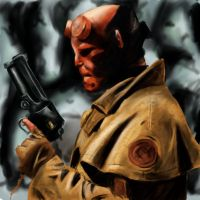 Hellboy by tite-pao