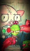 Twisted- Invader Zim by Zamayn