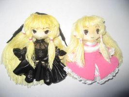 Chobits plushie Elda, Freya by Rens-twin
