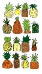 PINEAPPLES by Inprismed