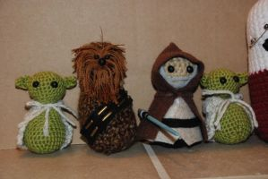 Star Wars Amigurumi by No-Avail