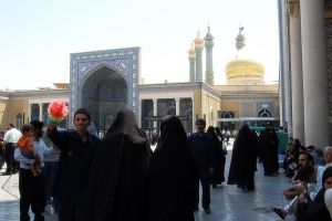 Iran, Qom - Shrine by persiangel