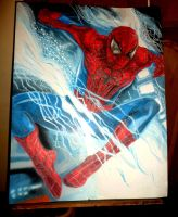 finished the amazing spider man by issamben93