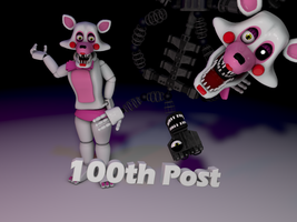 Cinema4D The Mangle!! [Also 100th Post!!] by GaboCOart