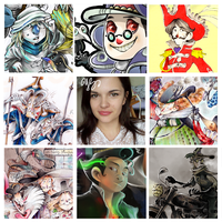 ArtvsArtist meme thing by eissaY