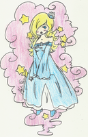Little Lady of The Cosmos - colored by PrettyLadyCosmos