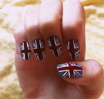 UK nail art. by Zoe-Sparks