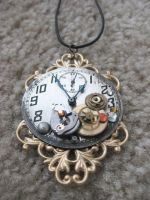Steampunk Necklace 1 by xxPRECIOUSMOMENTSxx