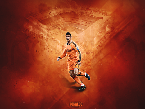 Cristiano  Ronaldo Wallpaper by PietroSG