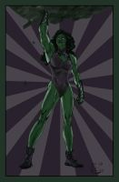 Sensational She-Hulk by SpiderGuile