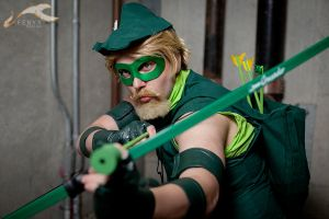The Emerald Archer by FlansPirateWench