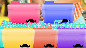 Moustache Folders by F-Iminlove