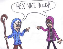 Jack Frost and Justin Bieber by SonicClone