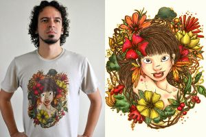 Iratembe T Shirt by ChamaCamisetas