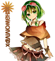 Vocaloid ~ Gumi render by xshawolviVIPx