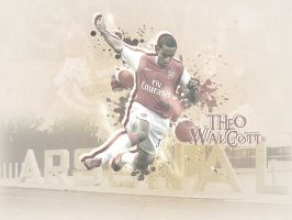 Theo Walcott Arsenal by metalhdmh