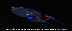 USS Rosa Luxemburg by SciFiRocker