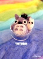 Felted wool Toroto by giggomon