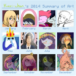 2014 Summary of Art by Ryuusei924