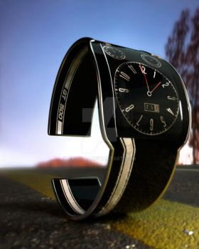GT-500 watch by Hankins