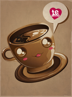 kawaii coffee by jml2art