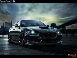 Maserati Quattroporte GT S by DemoDesign