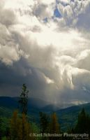 Peace Valley Rainstorm by KSPhotographic