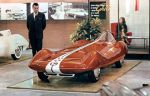Ghia Innocenti IXG Dragster Concept (1960) by Johnny1978