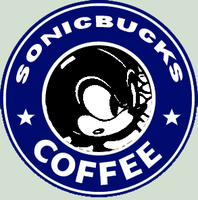 SONICBUCKS COFFEE by SonicWolvelina99