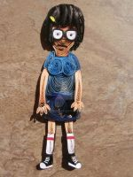 Paper Quilling - Tina - Bob's Burgers 2 by wholedwarf