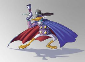 Darkwing Duck by Fontez