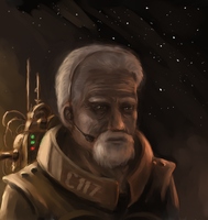 Old guy from space by ThroughSpaceAndTime