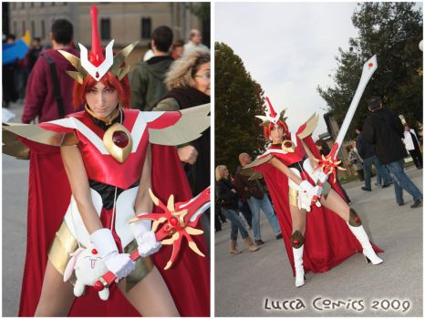 Me as Hikaru at Lucca by AuraRinoa