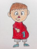 Villager with a Fat Stomach by nintendolover2010
