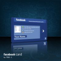 facebook card by TRIO-3