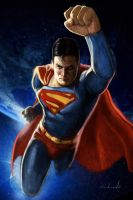 SUPERMAN SAMPLE by galindoart