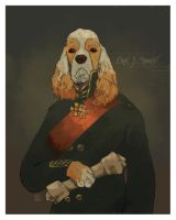 Captain Jack Spaniel by dinn