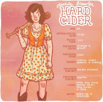 petite brawler HARD CIDER by THEdorkster
