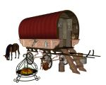 Gypsy Camp by markopolio-stock