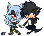 .:Chibi Sonia and Auric:. by Shadethebathog