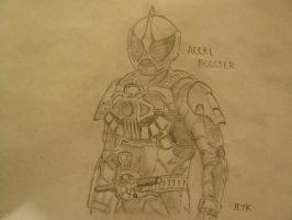Kamen Rider Accel Booster by RPNagato
