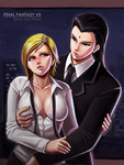 Final Fantasy VII: 50 Shades of Tseng? by WolfHyde