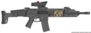 Adaptive Combat Rifle by GVK2010