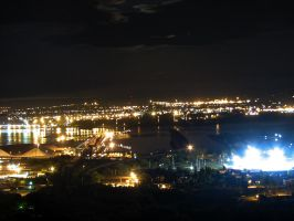 Duluth in the night time by Nipntuck3