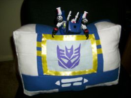 Soundwave Pillow by Ty-Chou