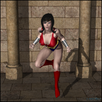 Wondergirl 02 by LordSnot