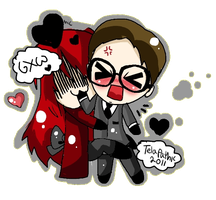 Grell and Will Support by Telapathic