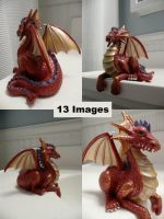 Dragon Statue by dull-stock