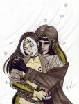 Rogue and Gambit by Protokitty