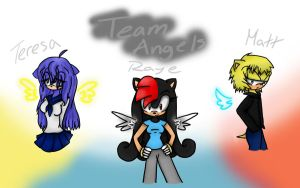 Team Angels: Wallpaper by Shadaily